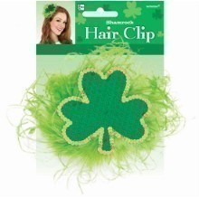 ST. PATRICK'S DAY GIANT SHAMROCK HAIR CLIP Thumbnail