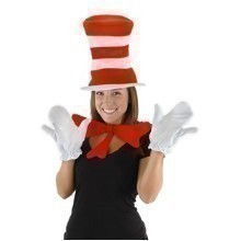 DR SEUSS CAT IN THE HAT ADULT ACCESSORY KIT Thumbnail