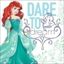 ARIEL DREAM BIG LUNCH NAPKINS - 16 COUNT Thumbnail
