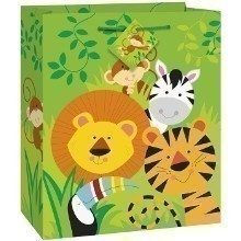 ANIMAL JUNGLE MEDIUM GLOSSY GIFT BAG Thumbnail