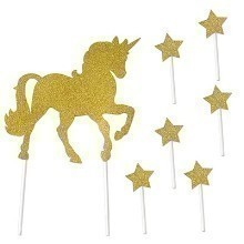 UNICORN CAKE TOPPER Thumbnail