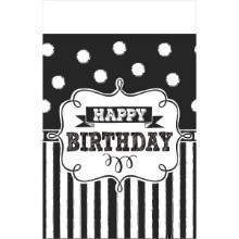 CHALKBOARD BIRTHDAY TABLECOVER Thumbnail