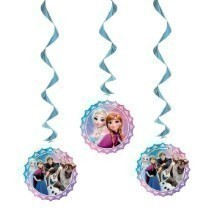 FROZEN HANGING SWIRL DECORATIONS Thumbnail