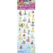 DISNEY PRINCESS PUFFY STICKERS Thumbnail
