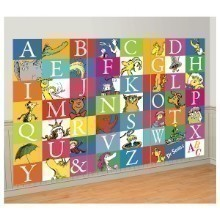DR SEUSS ALPHABET 3 PIECE BACKDROP KIT Thumbnail