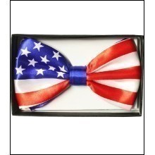 AMERICAN FLAG BOW TIE Thumbnail