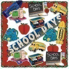 19PC SCHOOL DAYS DECORATING KIT Thumbnail