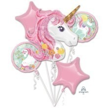 MAGICAL UNICORN MYLAR BALLOON BOUQUET KIT Thumbnail