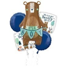 WE CAN BEARLY WAIT BALLOON BOUQUET KIT Thumbnail