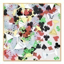 1/2 OZ CASINO NIGHT METALLIC CONFETTI Thumbnail