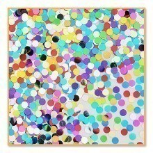 1/2 OZ PRETTY POLKA DOTS METALLIC CONFETTI Thumbnail