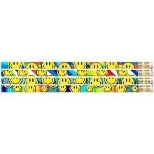 12PK PENCILS-SMILEY FACE Thumbnail