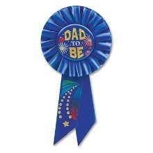 DAD TO BE SATIN AWARD RIBBON Thumbnail