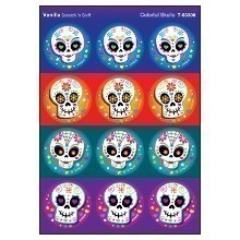 COLORFUL SKULLS STINKY STICKERS Thumbnail